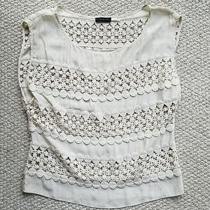 Anthropologie The Addison Story lace blouse